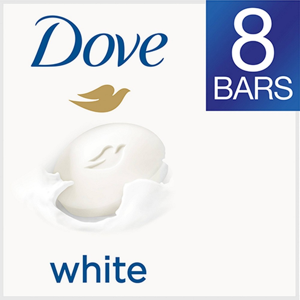 Dove Beauty Bar White - 4oz/8pk