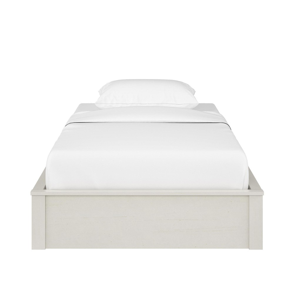 Sullivan Platform Bed Frame (Twin) Vintage White - Room & Joy