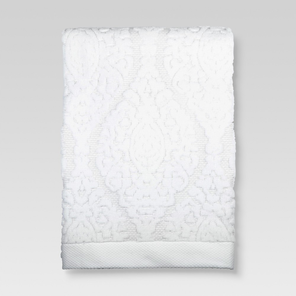 Ogee Bath Towels White - Threshold