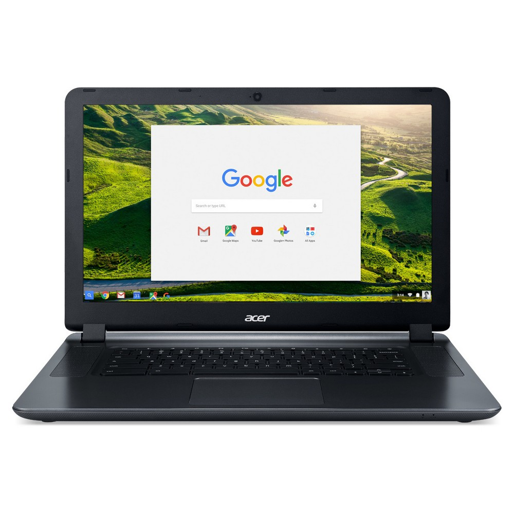 Acer Chromebook 15-15.6 HD Celeron N3060 2GB LPDDR3/16GB Storage - (CB3-532-C3F7) - Black, Dark Ash