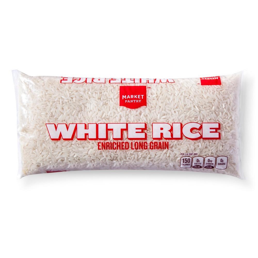 Enriched Long Grain White Rice 1lb - Market Pantry
