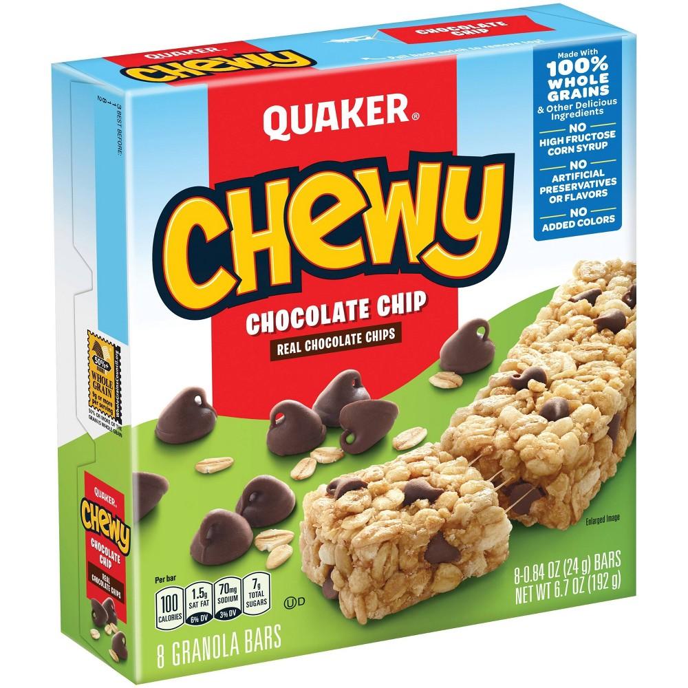 Quaker Chewy Chocolate Chip Granola Bars - 8ct