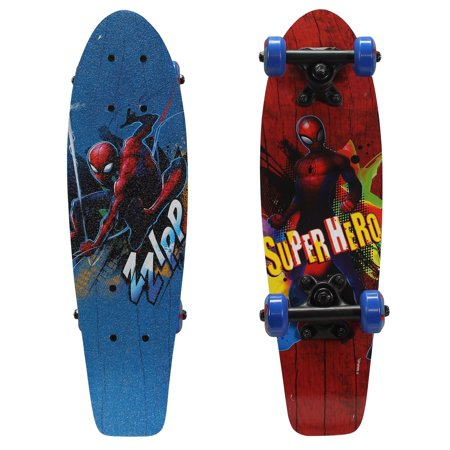 Playwheels Spider-Man Kid's 21' Complete Skateboard