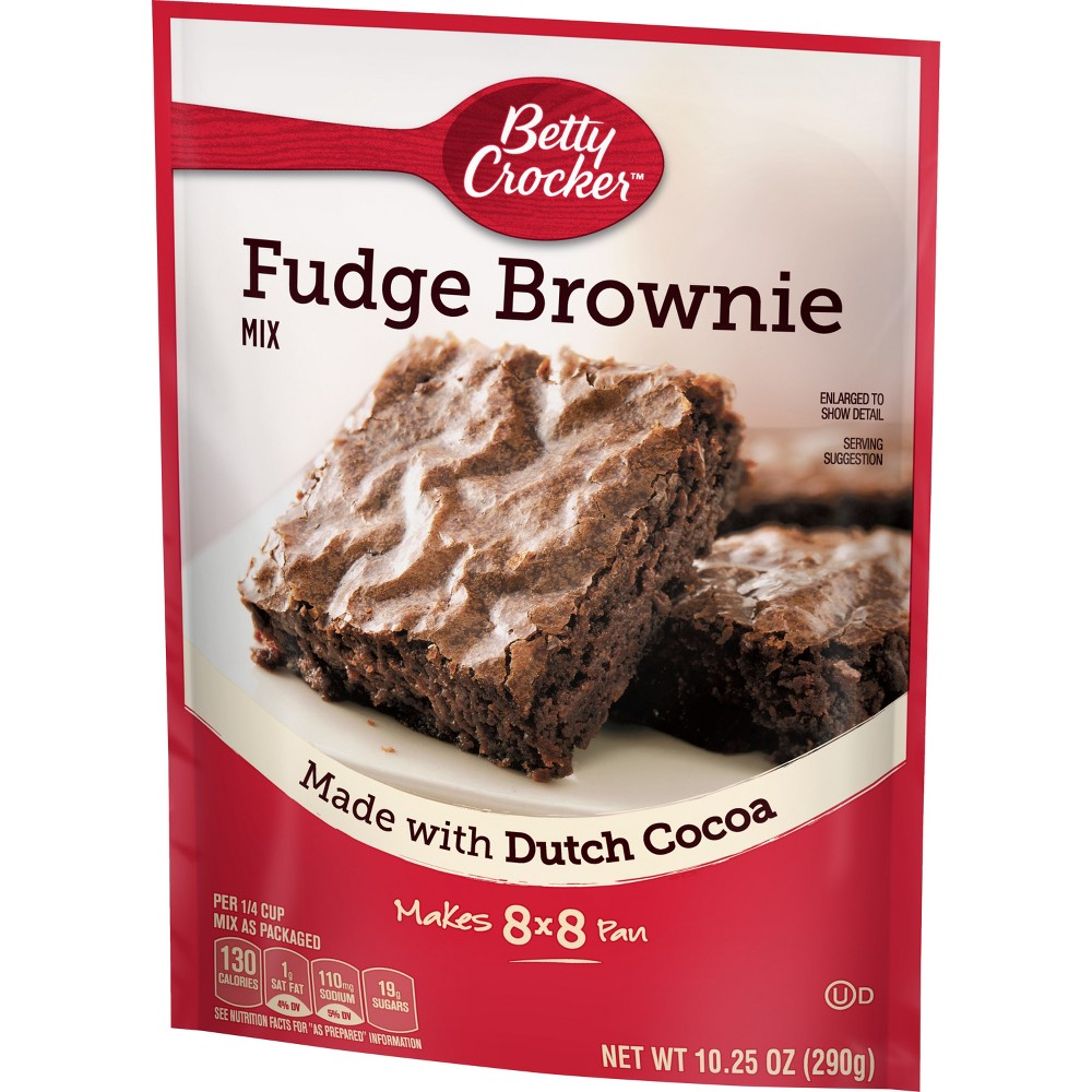Betty Crocker Fudge Brownie Mix - 10.25oz
