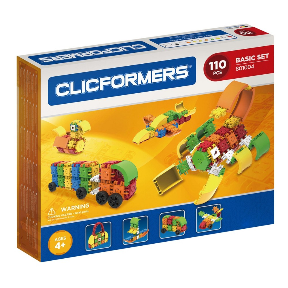 Clicformers Basic Building Set - 110pc