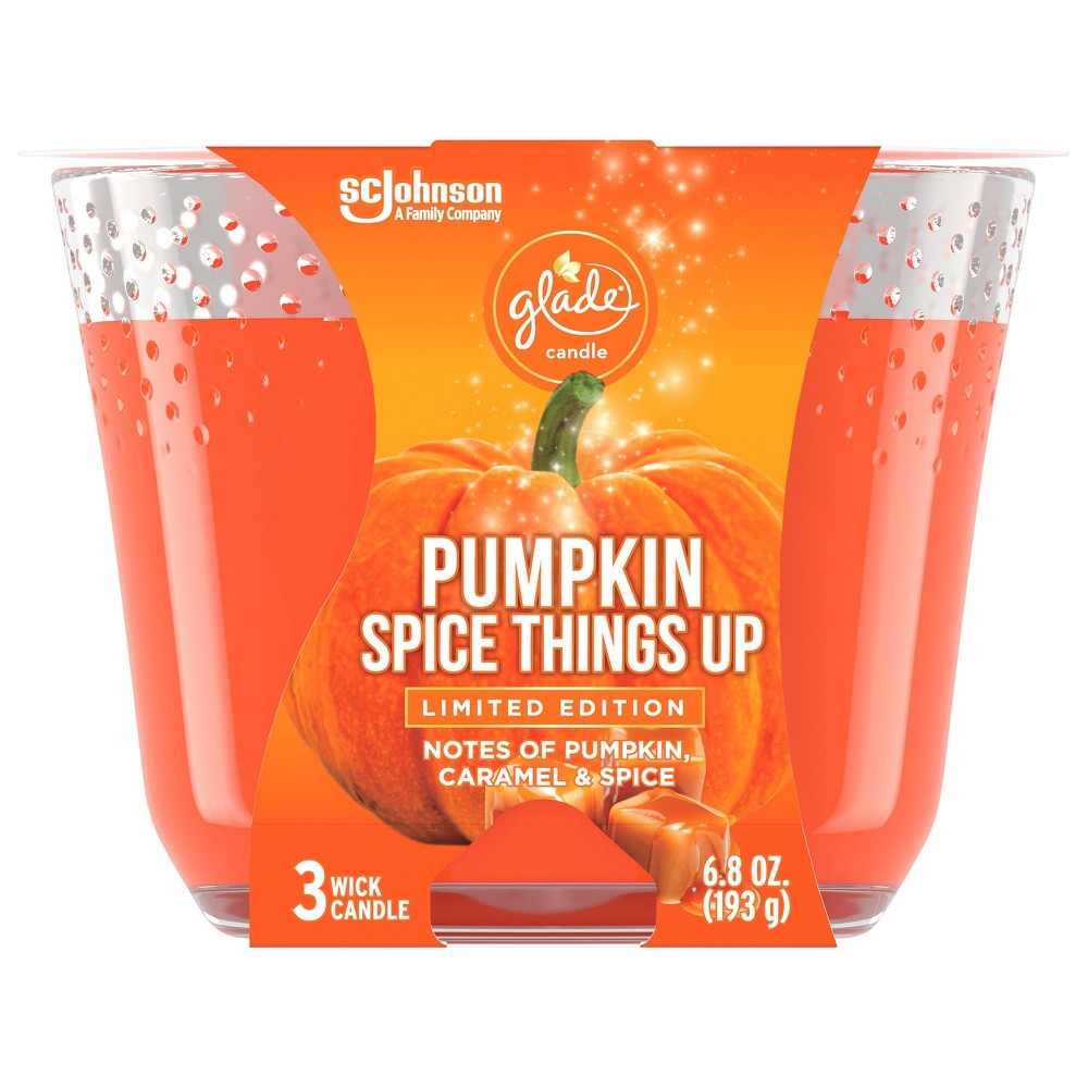 Glade Candle - Pumpkin Spice Things Up - 6.8oz