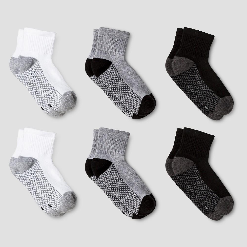 Boys' Athletic Socks S - Cat & Jack, Multicolored