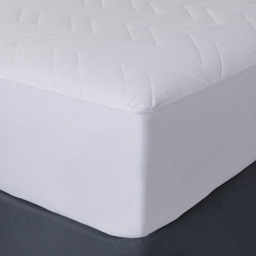Mattress Pad (Twin) - Room Essentials, White