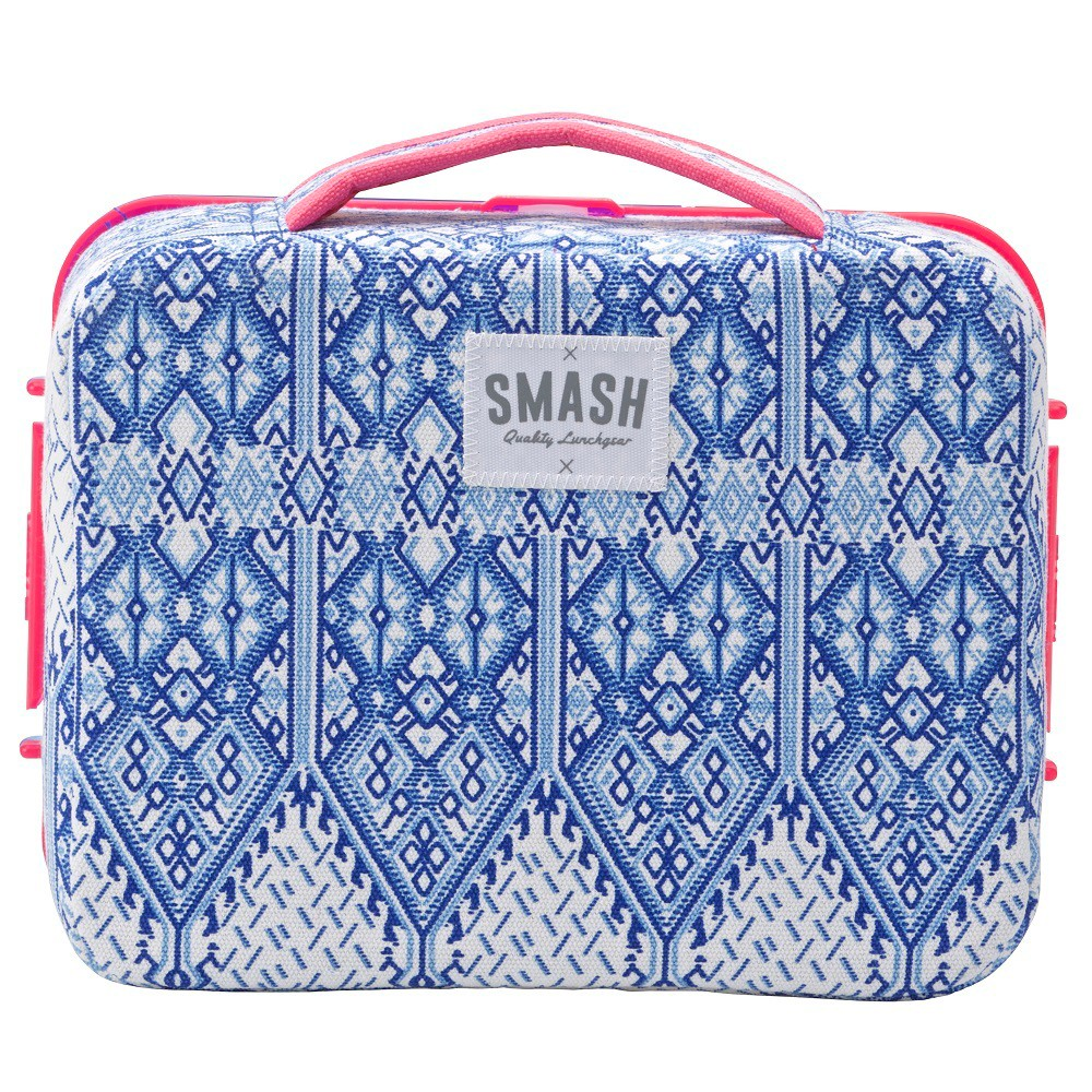 Smash Festival Lunch Box - Pink/Navy, Multi-Colored