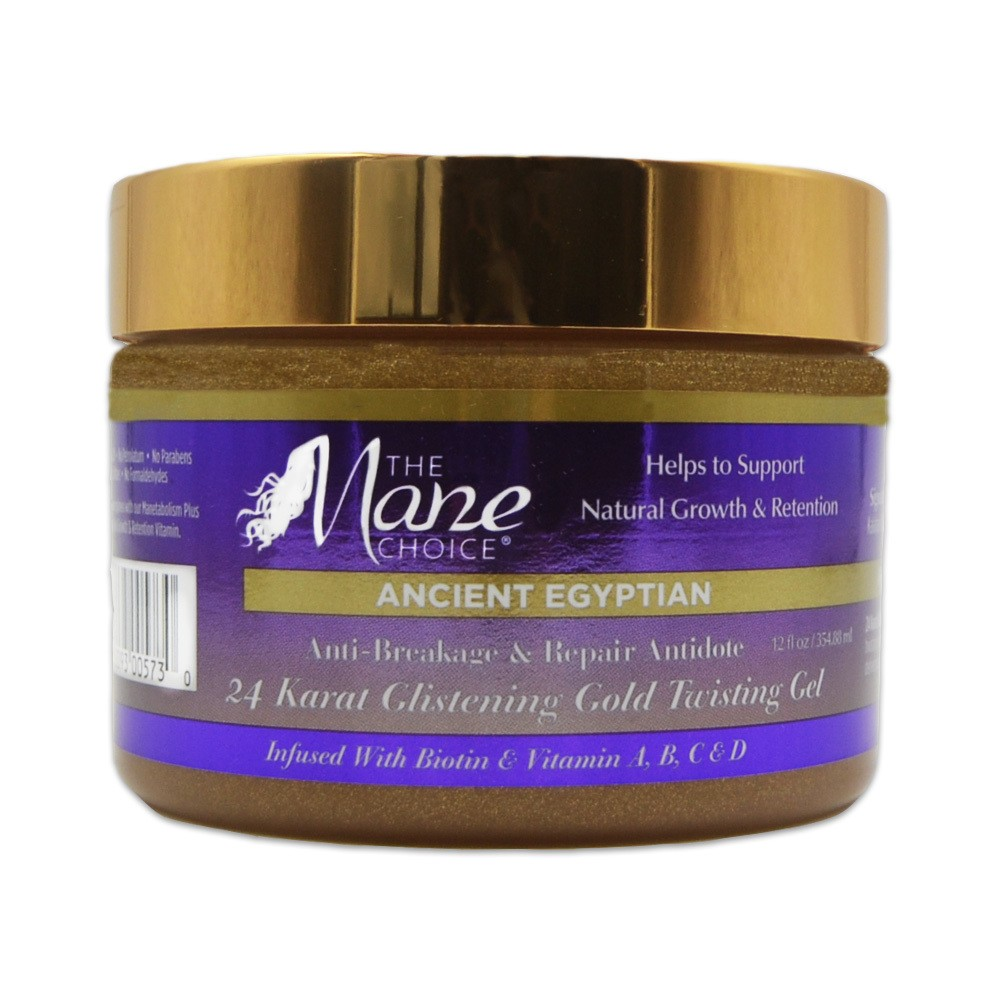 Mane Choice Ancient Egyptian 24 Karat Gold Twisting Gel - 12 fl oz