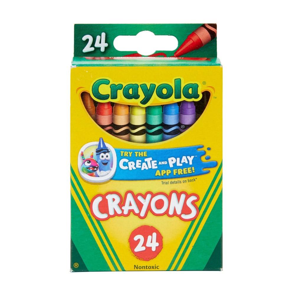 Crayola Crayons 24ct, Crayons