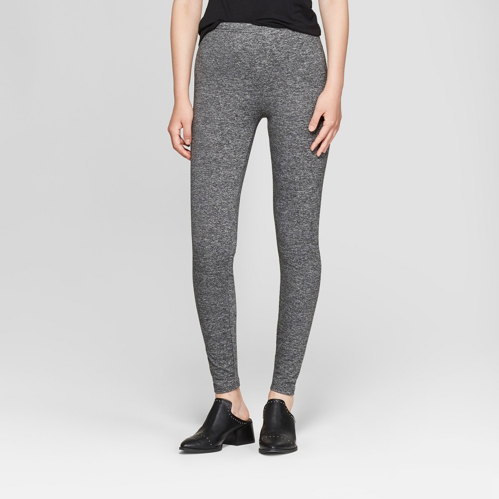 Women's Super Soft Leggings - Xhilaration Heather Gray S