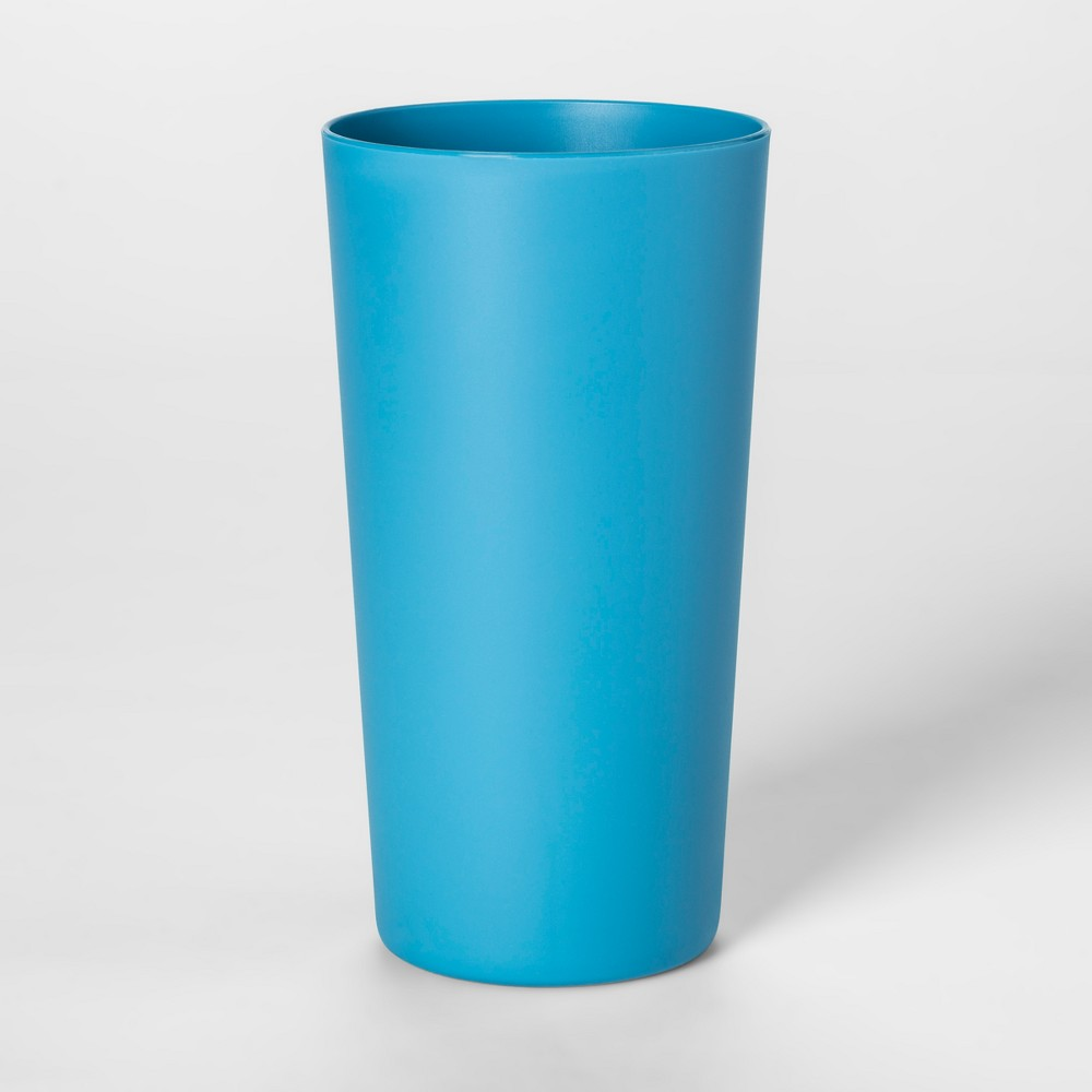 26oz Plastic Tall Tumbler Blue - Room Essentials, Corrib River Blue
