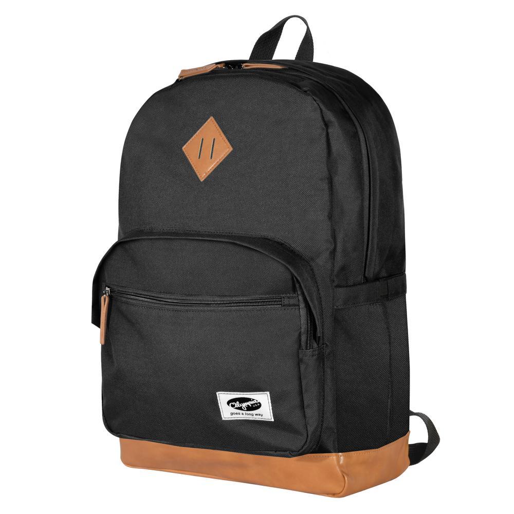 Element 18 in. Black Backpack