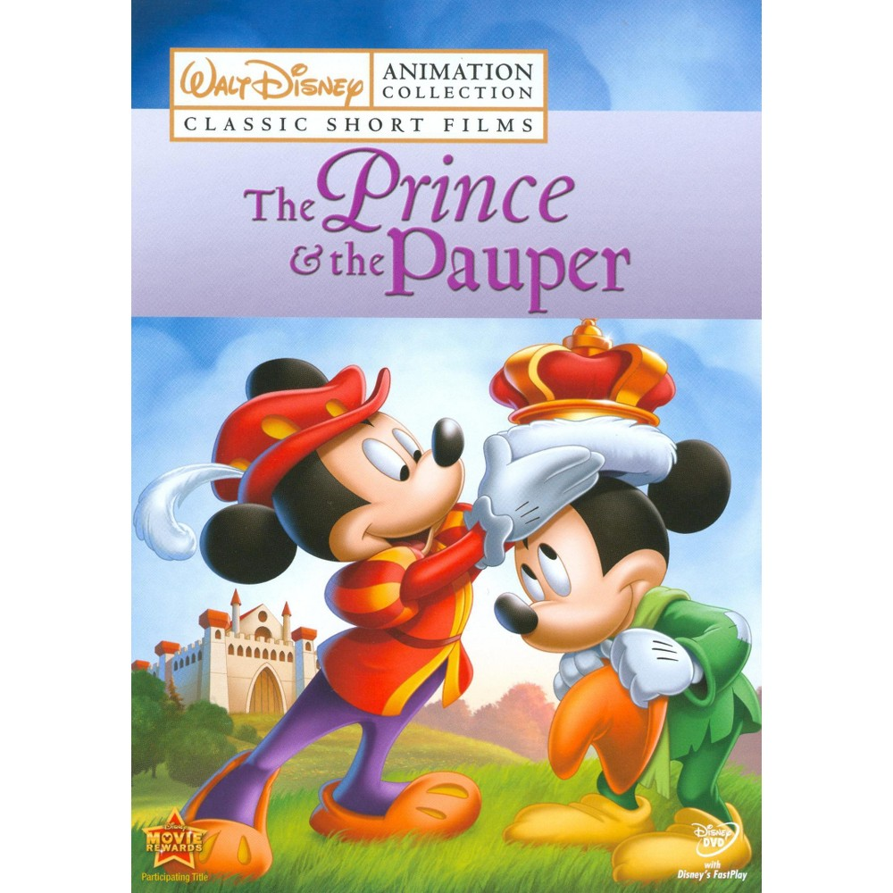 Walt Disney Animation Collection: Classic Short Films, Vol. 3 - The Prince & the Pauper (dvd_video)