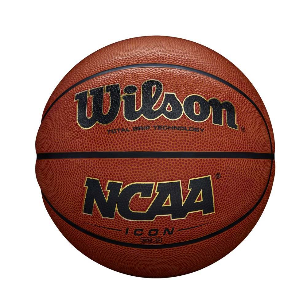 Wilson Icon 28.5 Basketball, Hyper Orange I