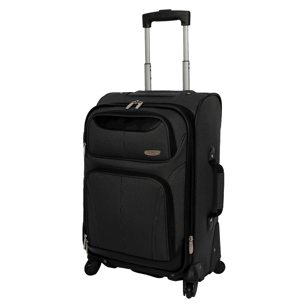 Skyline 21 Spinner Carry On Suitcase - Gray, Grey