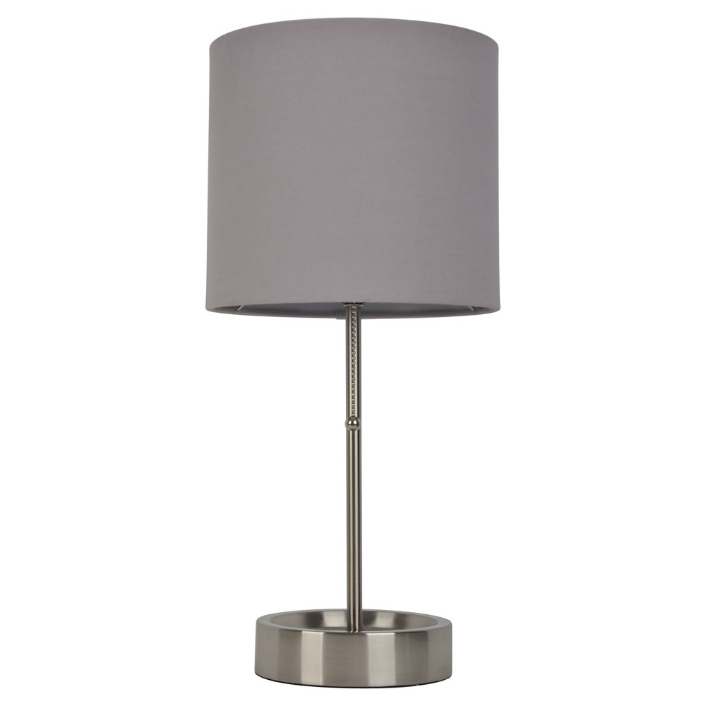 Stick Lamp Gray Lamp Only - Room Essentials