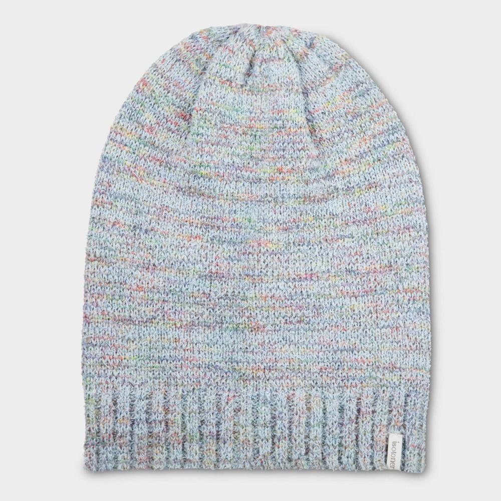 Isotoner Women's Yarn Flip Hat - Green One Size