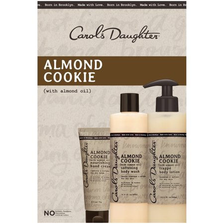 Carol's Daughter Bath & Body Luxury Kit, Almond Cookie, 3 Pieces
