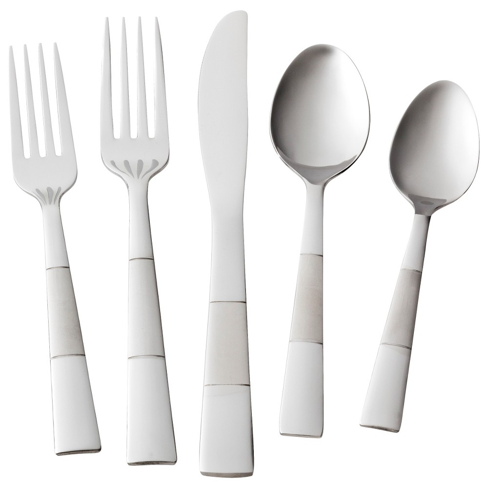 Pharo Silverware Set 20-pc. Stainless Steel - Room Essentials, Silver