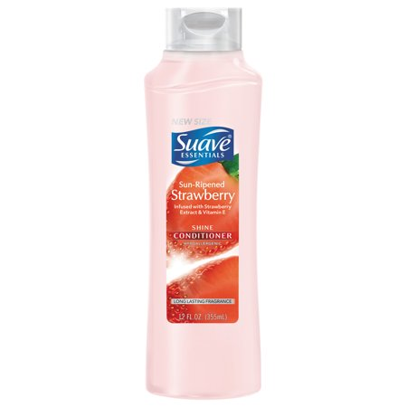 Suave Essentials Strawberry Conditioner, 12 oz