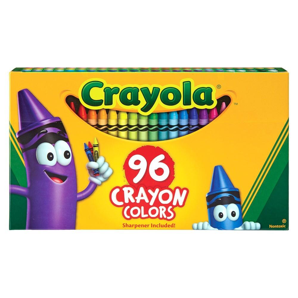 Crayola Crayons 96ct, Multi-Colored