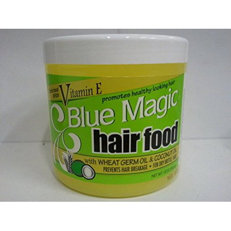 Blue Magic: W/Wheat Germ Oil and Coconut Oil Hair Food, 12 Oz