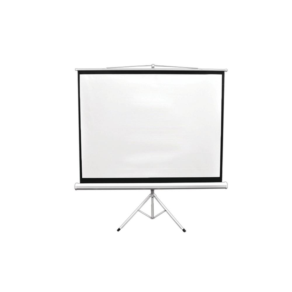 Pyle 72 in. Floor-Standing Portable Tripod Manual Projector Screen
