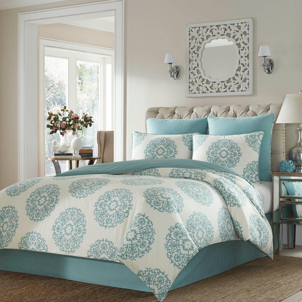 Blue Bristol Comforter Set (King) - Stone Cottage