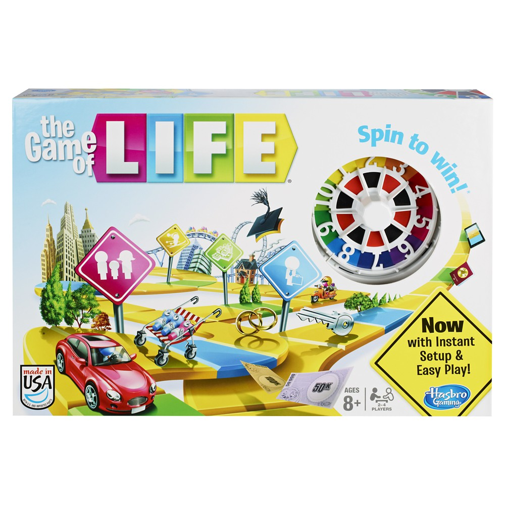 The Game Of Life, Board Games