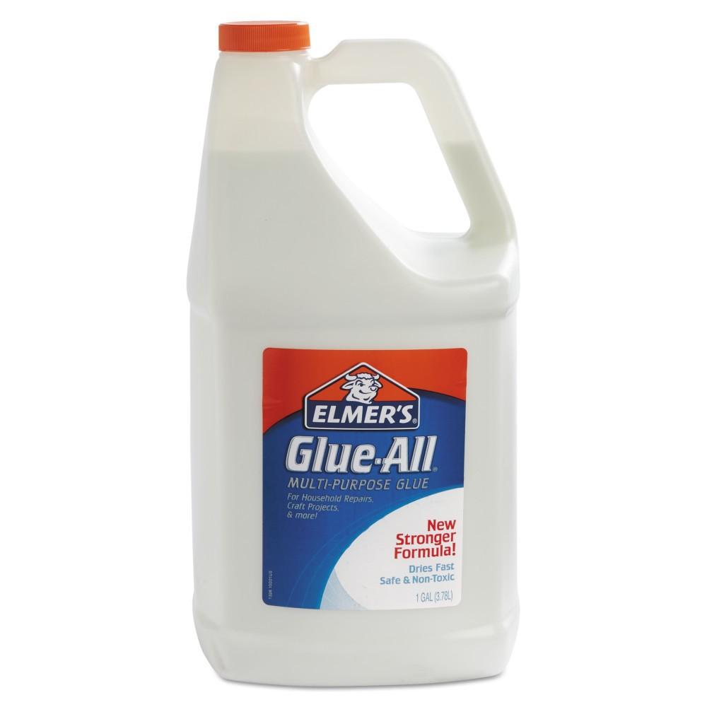 Elmer's Glue-All White Glue, Repositionable, 1 gal