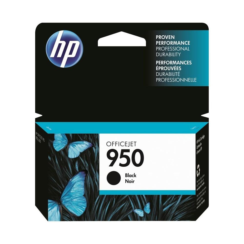 HP 950 Officejet Single Ink Cartridge - Black (CN049AN#140), Black (950)