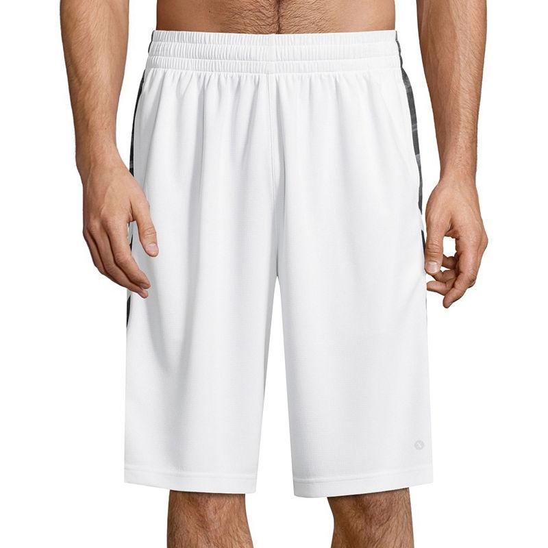 Xersion Mens Elastic Waist Basketball Short