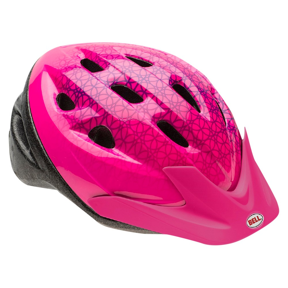 Bell Sports Rally Prismatic Child Helmet - Pink, White