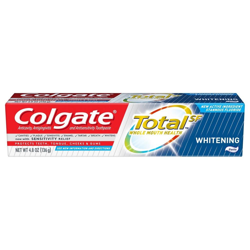 Colgate Total Whitening Paste Toothpaste - 4.8oz