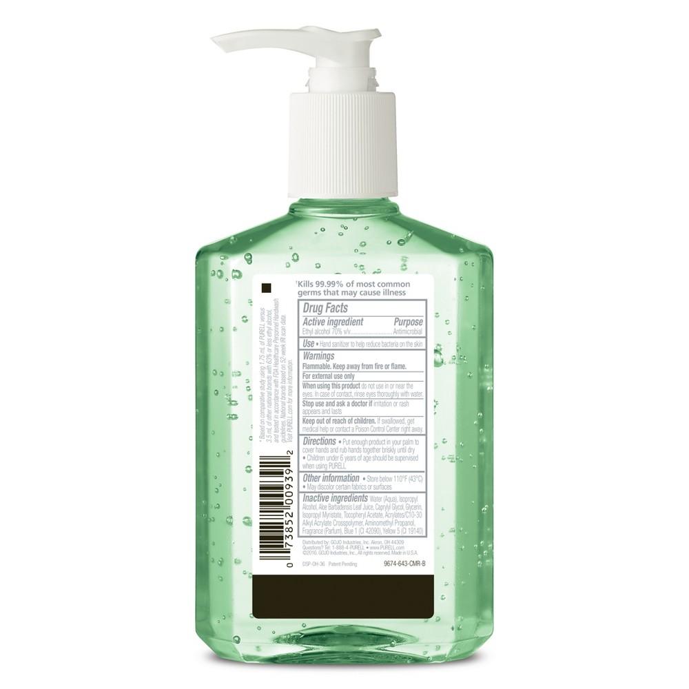 Purell - Hand Sanitizer - 8 oz