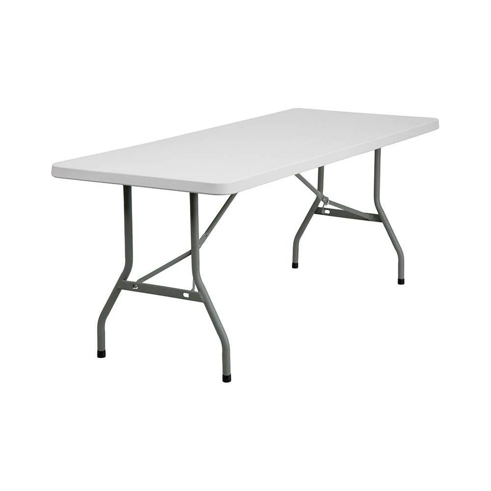 Riverstone Furniture Collection Fold Table Granite White