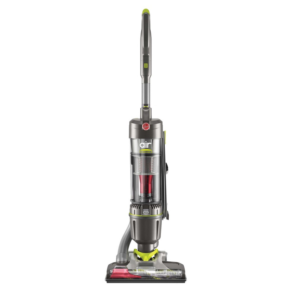 Hoover WindTunnel Air Steerable Upright Vacuum, Silver
