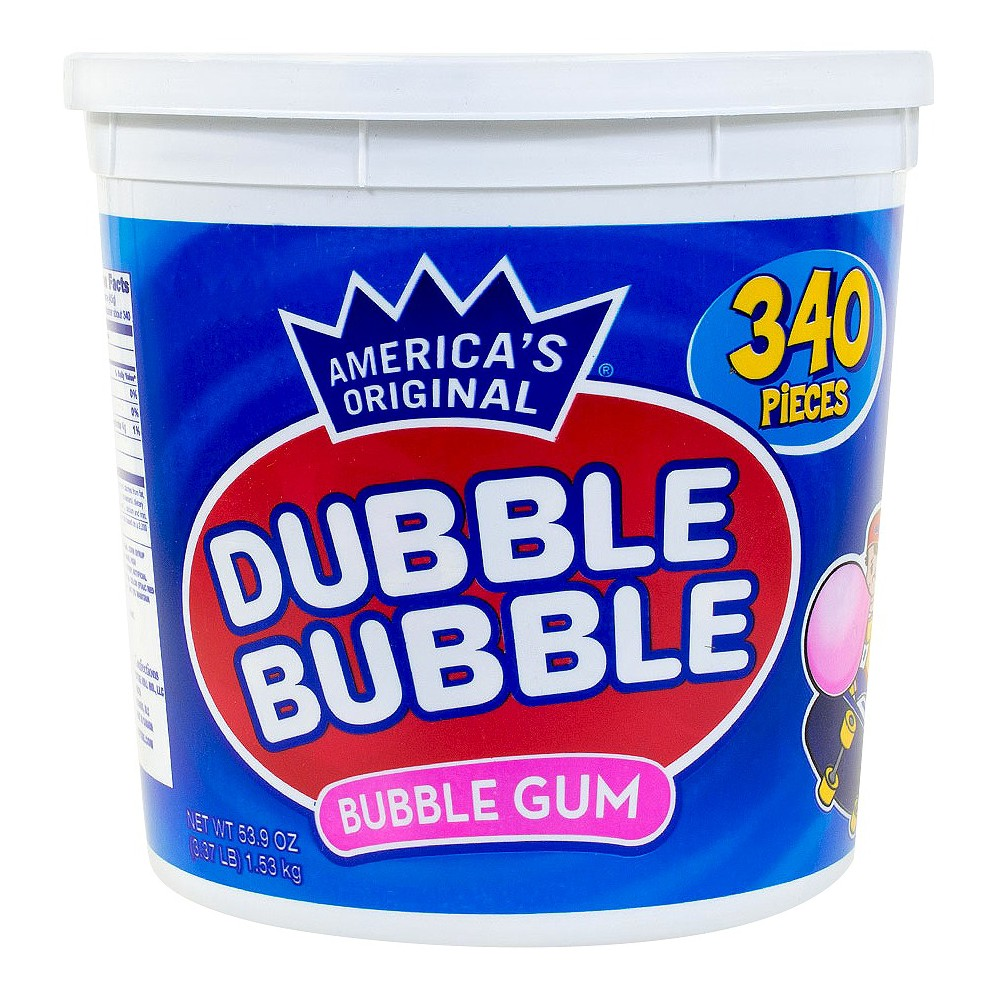 Dubble Bubble Original Bubble Gum - 340ct, Pink