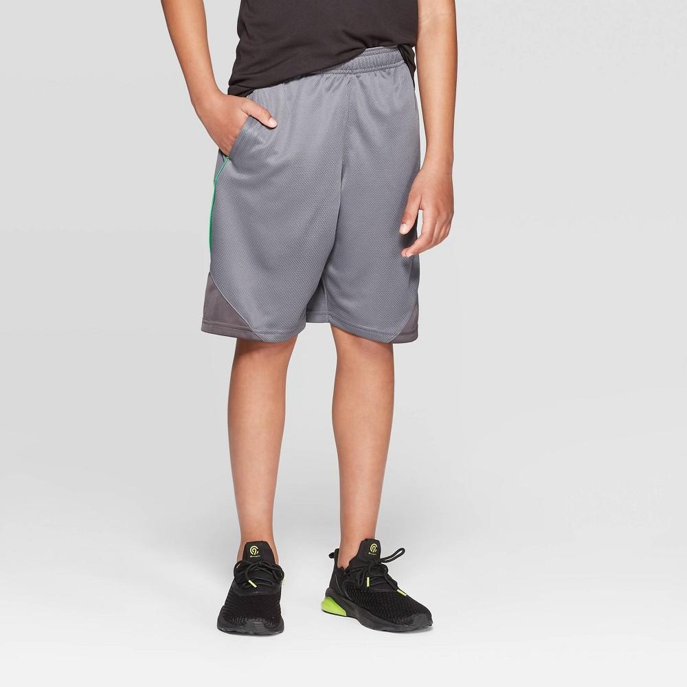 Boys' Core Basketball Shorts - C9 Champion Medium Gray L