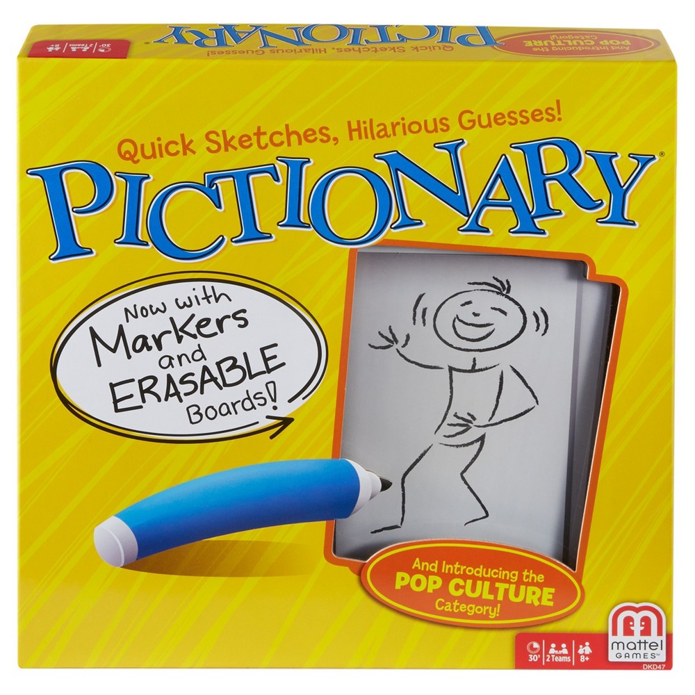 Pictionary Board Game, Board Games