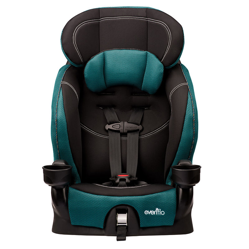 Evenflo Booster Car Seat, Teal, One Size