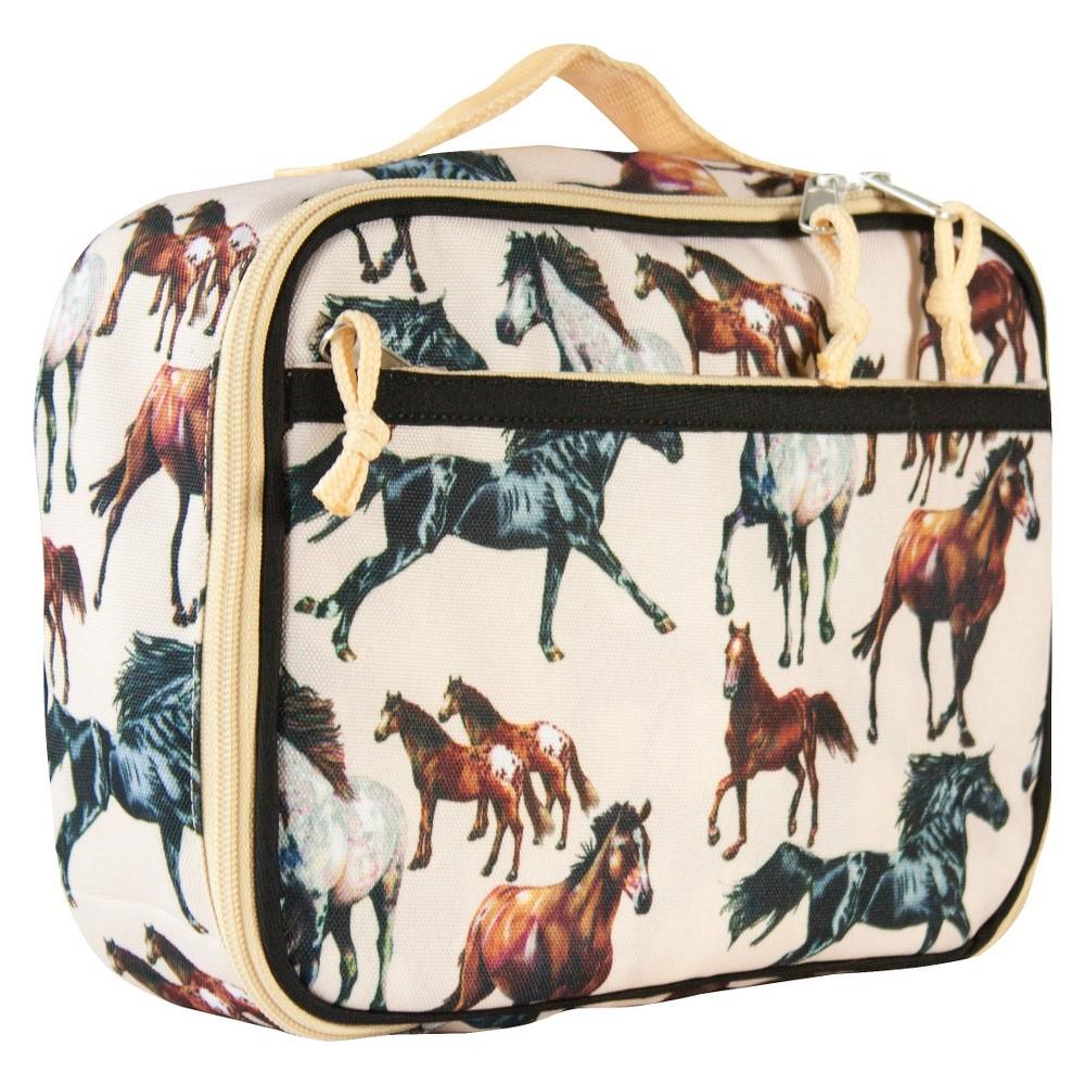 Wildkin Horse Dreams Lunch Box, Tan