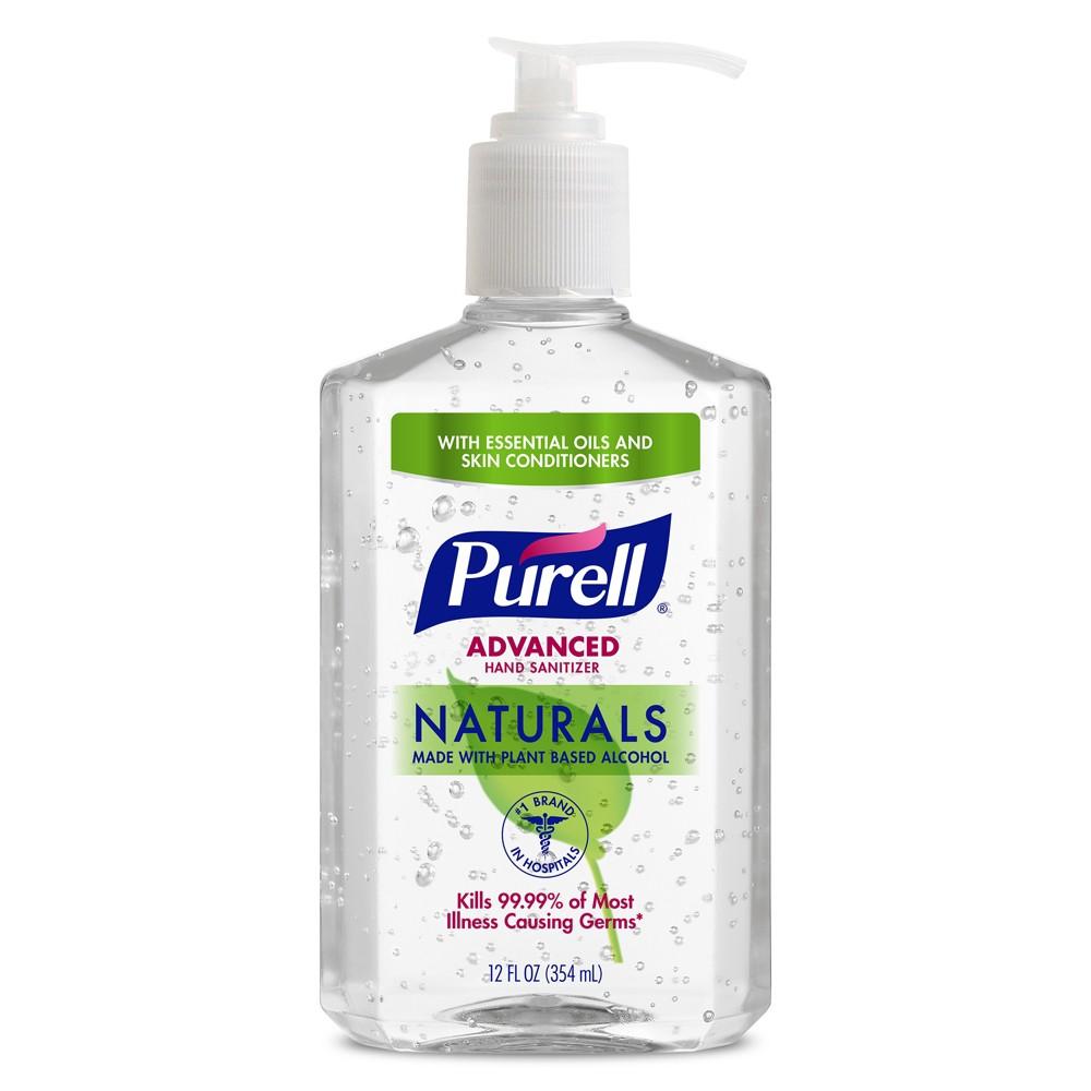 Purell Naturals Hand Sanitizer - 8oz