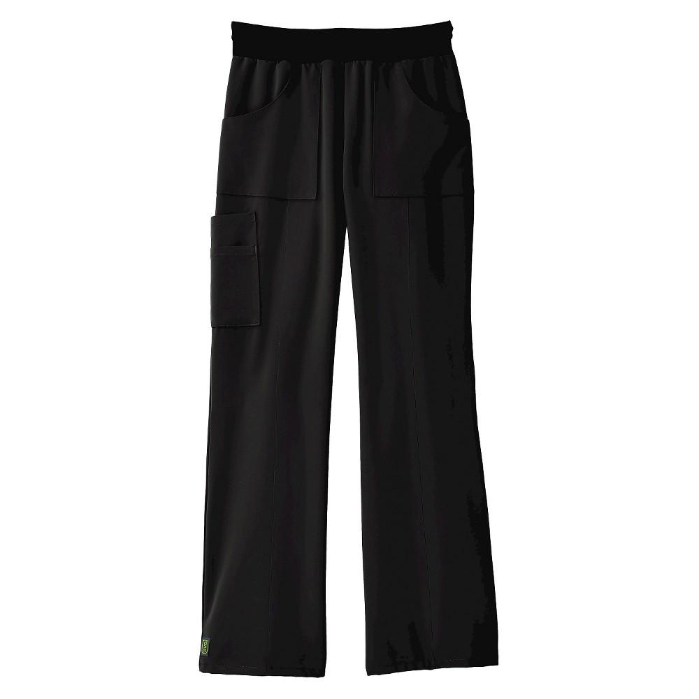 Female Scrub Pants Ave M Black