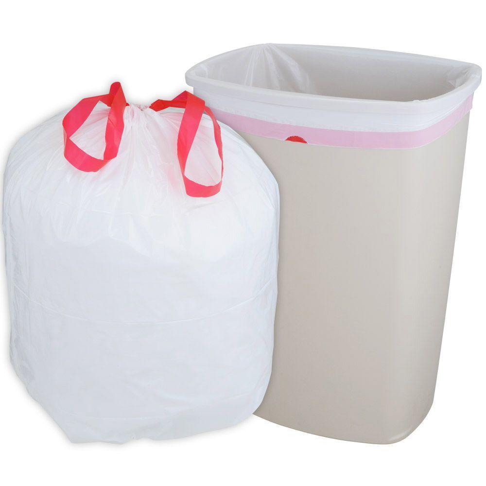 HUSKY 13 Gal. Drawstring Kitchen Trash Bags (300-Count)