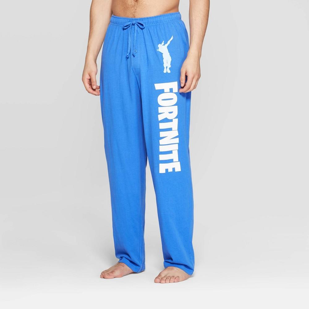 Men's Fortnite Pajama Pants - Blue M
