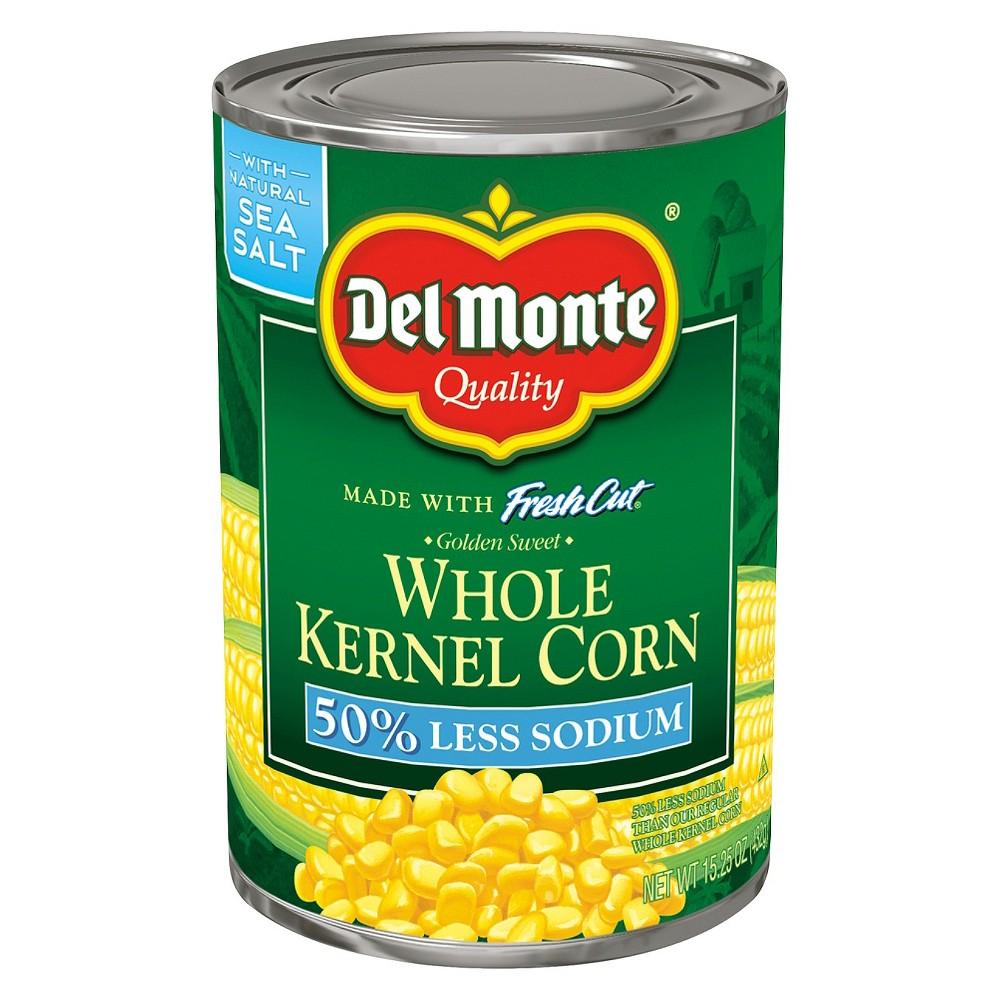 Del Monte Low Salt Whole Kernel Corn 15.25 oz