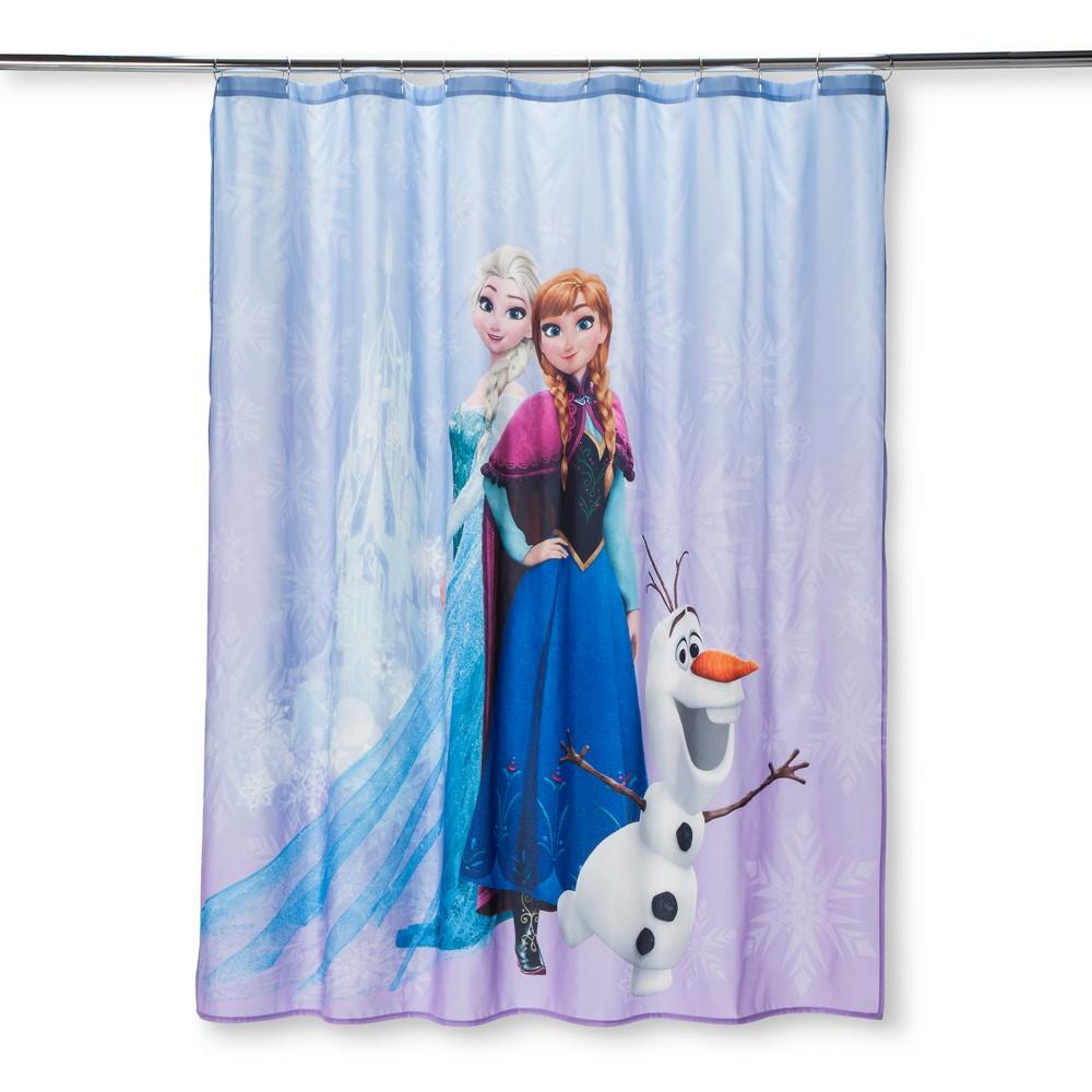 Disney Frozen Purple Shower Curtain